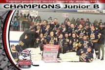 Champions Junior B - Chevaliers de Lachenaie
