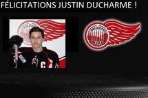Félicitations Justin Ducharme, Champion Coupe Memorial et Coupe du Président!