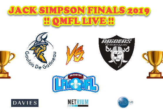 QMFL Jack Simpson 2019 Final