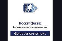 Hockey Québec dévoile son Guide du programme Novice demi-glace