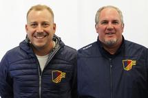 Yves et Alexandre de retour avec l'équipe M15 AAA