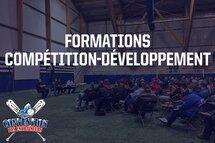 Inscrivez-vous aux formations d'entraîneur compétition-développement