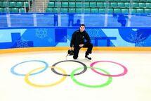 Les Jeux olympiques de PyeongChang représentaient le 4e tournoi international d'Olivier Gouin. (Photo : courtoisie)