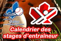 Calendrier des formations PNCE pour les entraîneurs de la région Richelieu-Yamaska