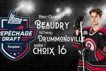 Marc-Olivier Beaudry - Sélection Ronde 1 - choix 16