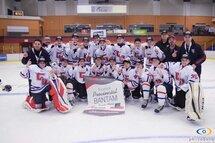 Bantam BB Champions du tournoi Sainte-Marie de Beauce
