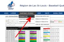 Horaires et résultats des championnats régionaux