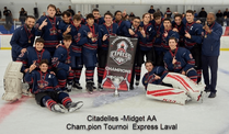 Citadelles Midget AA Champions Tournoi