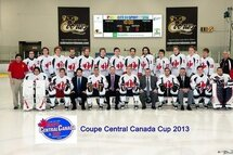 CENTRAL CANADA CUP – 2ND DAY OF THE TOURNAMENT –   Win for the CCHL team against QJAAAHL Perron-Burrows team