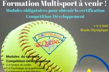 Formation multisport du contexte Compétition-Développement à venir !