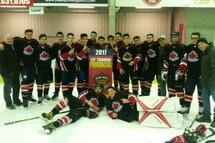 Midget A Canucks win the West Island Hockey Tournament