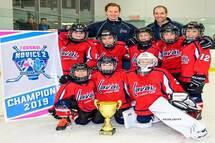 Félicitations!  Novice D2 Titans Laval-Est