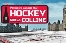 Quatre équipes du Québec gagnantes du concours Patinoire Canada 150 « Le hockey sur la Colline »