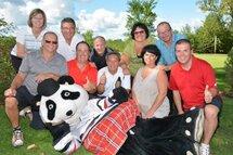 Un succès pour le tournoi de golf du hockey mineur