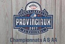 Les sites des championnats provinciaux A et AA sont dévoilés!