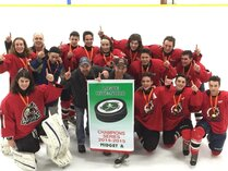 ARCHERS MIDGET A 2014-2015 CHAMPION SÉRIES LIGUE R