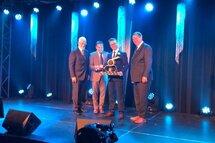 Récipiendaire du trophée Paul-Cazeau : Jonathan Galipeault