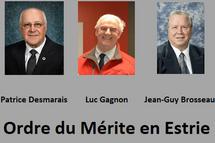 Ordre du Mérite en Estrie 2019