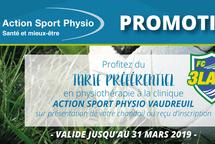 Capsule vidéo d'Action Sport Physio
