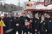 Activité d'Équipe sur Canal Rideau Bantam AAA-R