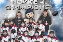 Équipe Novice-4 Hawks champions du tournoi DDO