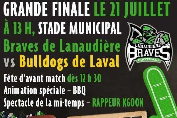 GRANDE finale LFSPQ - Braves vs Bulldogs
