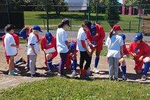 La tournée du baseball féminin s'est déplacée dans la région du Lac St-Louis