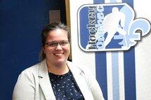 Stéphanie Campbell, superviseure-chef du programme provincial féminin des officielles élites (PPFOE)