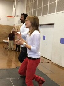 2014 - Royal Vale elementary school, Dance for Ale