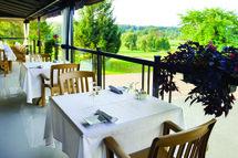 Les terrasses | Centre de golf Le Versant: plaisir gastronomique dans un décor unique