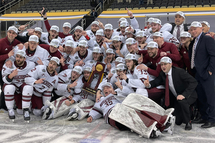 UMass shuts out St. Cloud State for program's first national championship