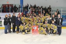 Les Ambassadeurs Bantam B, champions du tournoi de St-Eustache !!