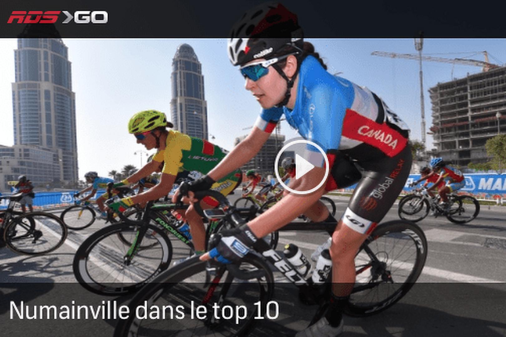 Numainville termine dans le top-10 aux Mondiaux