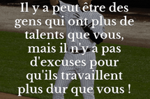 Talent vs Travaille