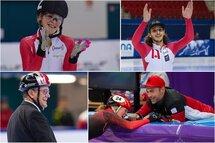 — Photos 1-2-3 Claude Rochon, photo 4 Patinage de vitesse Canada