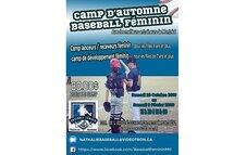 Camp Baseball Féminin Lanceur/receveur et développement