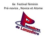 6e Festival féminin Pré-novice, Novice et Atome de Lanaudière