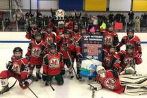 Les Montagnards Peewee C sont champions !