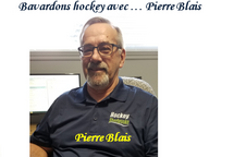 BAVARDONS HOCKEY AVEC... PIERRE BLAIS, régisseur des heures de glace à Hockey Sherbrooke