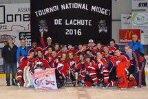 Les Sieurs du Collèges Français Midget BB Champions du tournoi de Lachute!