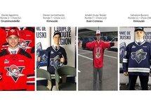 Repêchage 2019 LHJMQ - 4 Joueurs de Hockey Montreal Elite sont sélectionnés!!
