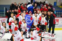 Peewee B - Champions tournoi Richelieu Mont-Laurie