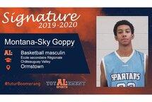 Montana-Sky Goppy - Crédit photo - Courtoisie de l'athlète