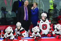Le travail d'André Tourigny à la barre des 67's d'Ottawa n'est pas passé inaperçu aux yeux des dirigeants de Hockey Canada. (Getty)