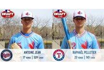 Deux Montpetitois sélectionnés par les MLB