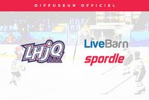La technologie LiveBarn sélectionnée comme diffuseur officiel et exclusif de la Ligue de Hockey Junior AAA du Québec