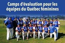 Camps d'évaluation pour les équipes féminines du Québec