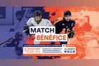 Match-bénéfice entre les joueuses professionnelles et célébrités vs équipe AL