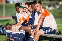 Membres de l'équipe de soccer masculin du Boomerang