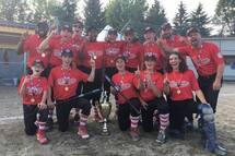Les Reds de Saint-Jean-sur-Richelieu, champions du tournoi Bantam A de Lac-Mégantic